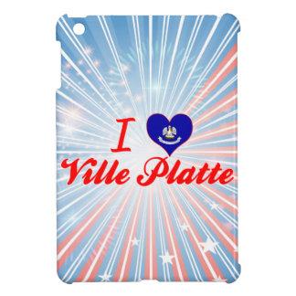 I Love Ville Platte Louisiana iPad Mini Covers
