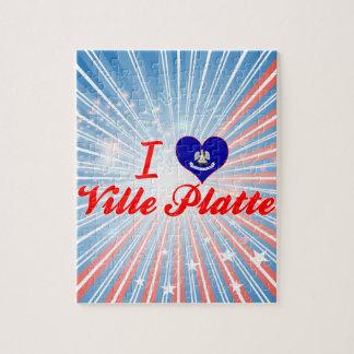 I Love Ville Platte, Louisiana Puzzle
