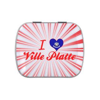I Love Ville Platte, Louisiana Jelly Belly Tin