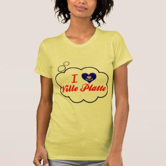 I Love Ville Platte, Louisiana Tshirts