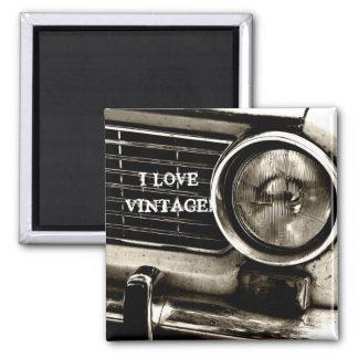 I Love Vintage Magnet