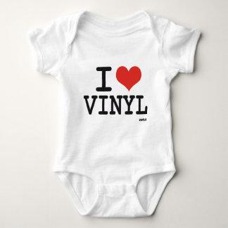 I love vinyl baby bodysuit