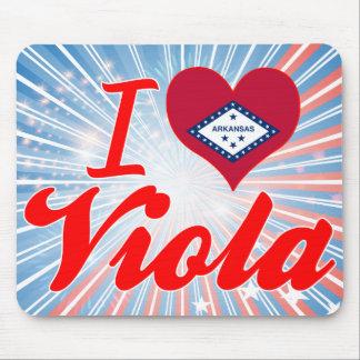 I Love Viola, Arkansas Mouse Pad