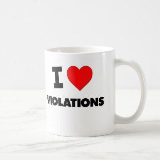 I love Violations Mugs