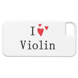 I Love Violin iPhone 5 Covers