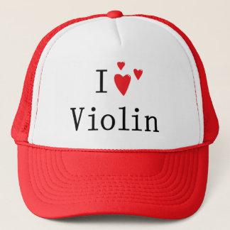 I Love Violin Trucker Hat