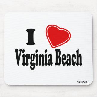 I Love Virginia Beach Mouse Mat