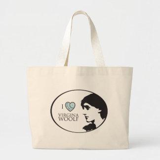 I Love Virginia Woolf Tote Bag