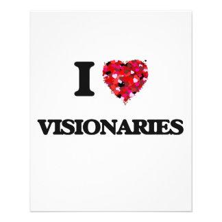 I love Visionaries 11.5 Cm X 14 Cm Flyer