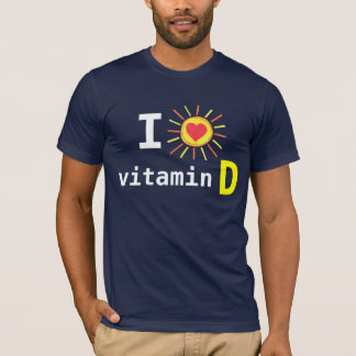 I Love Vitamin D T-Shirt