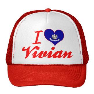 I Love Vivian Louisiana Mesh Hat