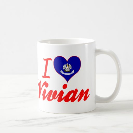 I Love Vivian, Louisiana Coffee Mugs