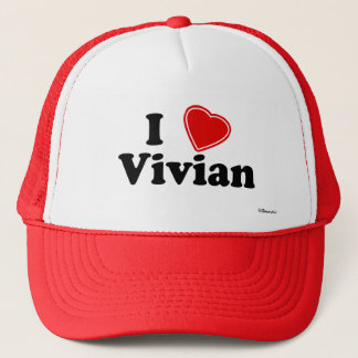 I Love Vivian Trucker Hat