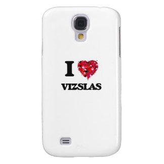 I love Vizslas Galaxy S4 Case