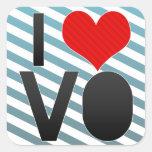 I Love VO Sticker