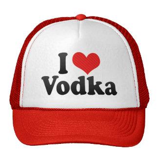I Love Vodka Cap