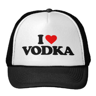 I LOVE VODKA CAP