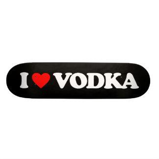 I LOVE VODKA SKATE BOARD