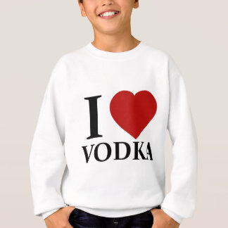 I Love Vodka Sweatshirt