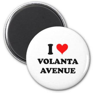 I Love Volanta Avenue Alabama 6 Cm Round Magnet