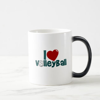 I Love Volleyball Magic Mug