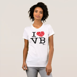 I love Volleyball Woman T-shirt