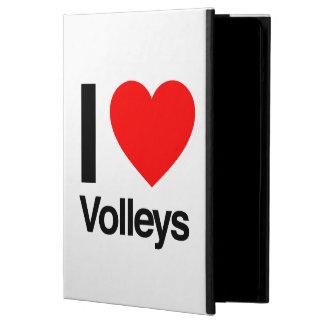i love volleys iPad air cover
