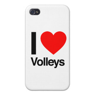 i love volleys iPhone 4 case