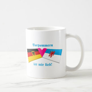I Love Vorpommern ist mir lieb Basic White Mug
