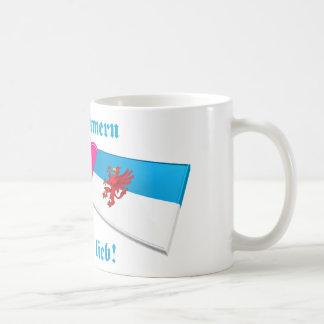 I Love Vorpommern ist mir lieb Mugs