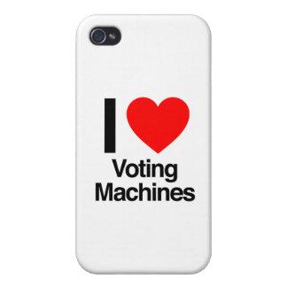 i love voting machines iPhone 4 cases