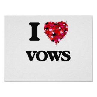 I love Vows Poster