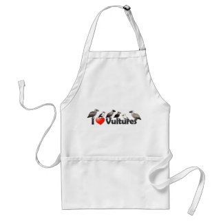 I Love Vultures Africa Aprons