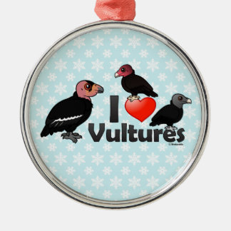 I Love Vultures (North America) Christmas Ornament