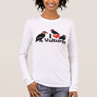 I Love Vultures (North America) Long Sleeve T-Shirt