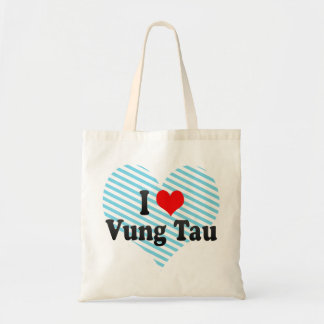 I Love Vung Tau, Viet Nam Budget Tote Bag