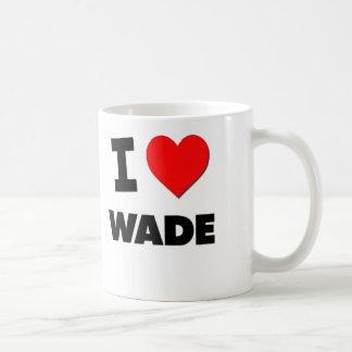 I love Wade Basic White Mug