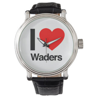 i love waders wristwatches