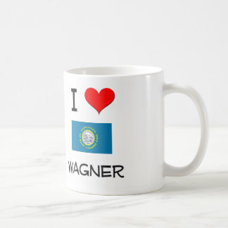 I Love Wagner South Dakota Coffee Mug