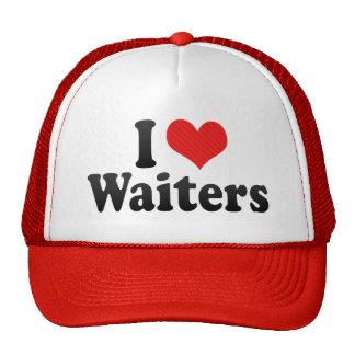 I Love Waiters Hats