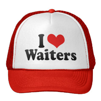 I Love Waiters Mesh Hat