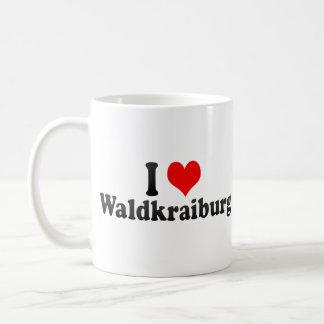 I Love Waldkraiburg, Germany Coffee Mugs
