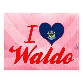 I Love Waldo, Maine Postcard