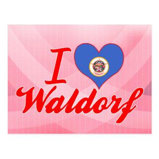 I Love Waldorf Minnesota Postcard
