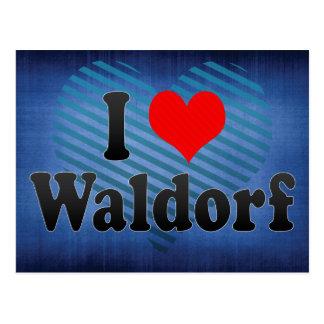 I Love Waldorf United States Postcard