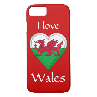 I love Wales iPhone 8/7 Case