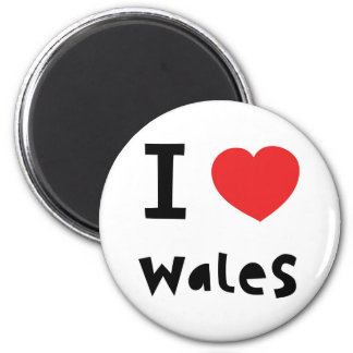 I love Wales magnet