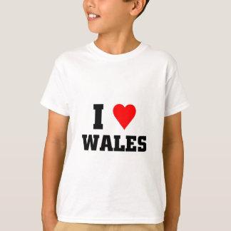 I love wales T-Shirt