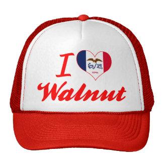 I Love Walnut, Iowa Mesh Hat