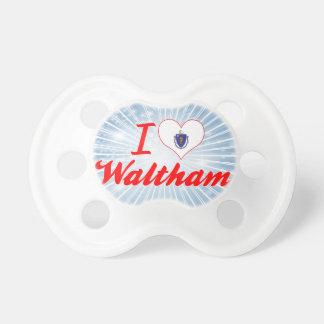 I Love Waltham, Massachusetts Baby Pacifier